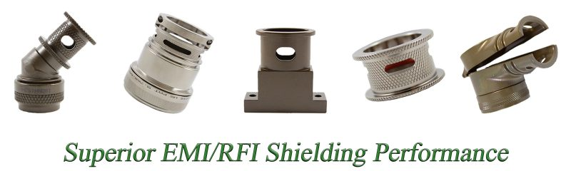 Backshell Superior EMI RFI Shielding Performance