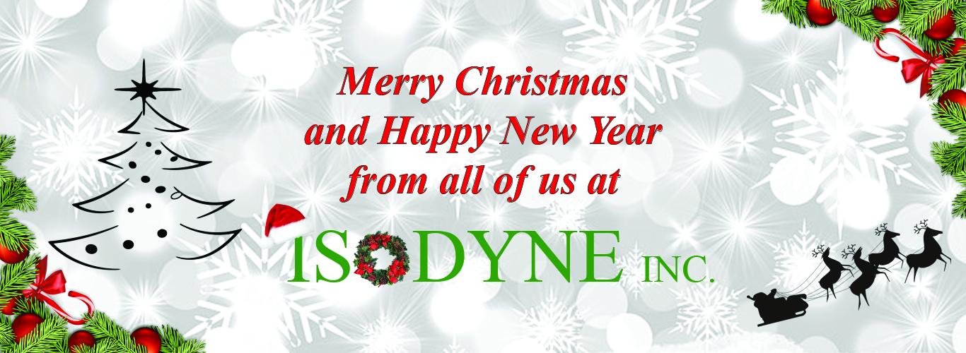 Isodyne Christmas Banner
