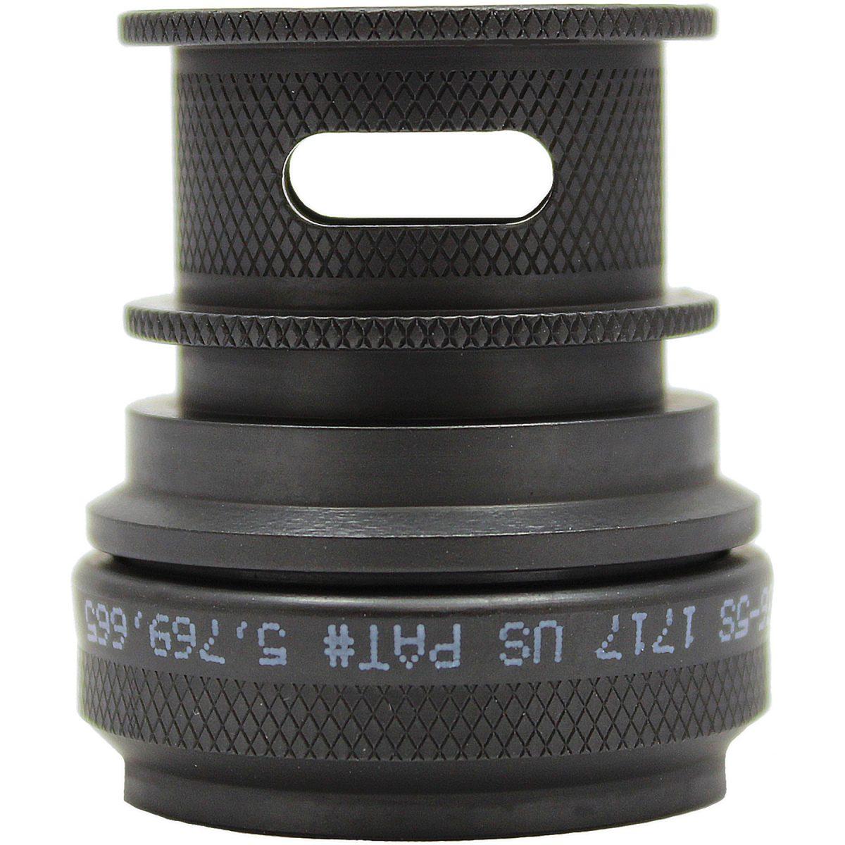 EMI Backshell 150 Series Straight Black Zinc Nickel Chromate